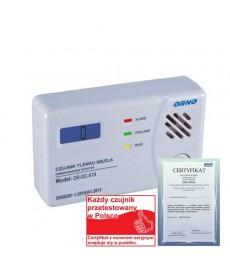 Bateryjny czujnik tlenku węgla (czadu), 3xAA TEST