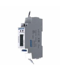 1-fazowy wskaźnik energii elektry.80A, port RS-485