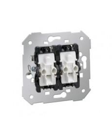 Łącznik świecznikowy p\t podświ. 75394-39 mechanizm simon82 kontakt