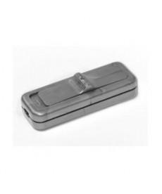 Wył. suwakowy,przelotowy 2-torowy 2,5A/250V, srebr