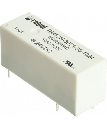 Przekaźnik elektromagnet czn , miniaturow , do obwodu drukowanego. W sokość 12,5