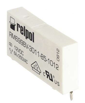 Przekaźnik elektromagnet czn , miniaturow , wersja pionowa, do obwodu drukowaneg