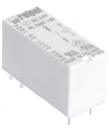 RM85 inrush - przekaźnik elektromagnet czn , miniaturow , do obwodu drukowanego