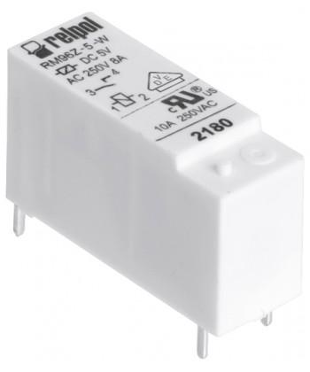 Przekaźnik elektromagnet czn , miniaturow , do obwodu drukowanego. W sokość 16,2
