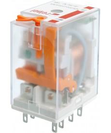 Przekaźnik elektromagnet czn , przem słow - miniaturow , do gniazda wt kowego.