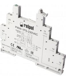 Gniazdo do przekaźnika RM699BV - Wejście: 115VAC/DC, szerokość: 6,2mm