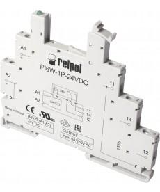 Gniazdo do przekaźnika RM699BV - Wejście: 12VDC, szerokość: 6,2mm