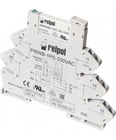 Przekaźnik interfejsowy PIR6WB-1PS-6VDC-R (SZARE) (CE)