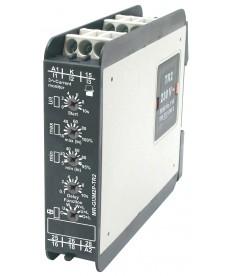Przekaźnik nadzorcz , wielofunkc jn : 2P - dwa zest ki przełączne. Nadzór prądu