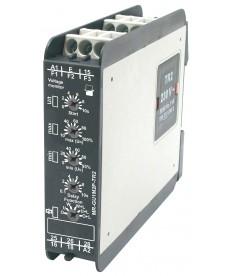 Przekaźnik nadzorcz , wielofunkc jn : 2P - dwa zest ki przełączne. Nadzór napięc