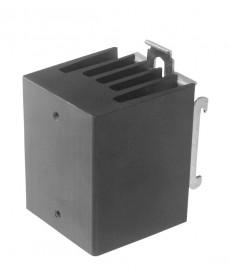 Radiator + zaczep dla SSR 1 i 3-polow ch. Rt = 5, K/W.