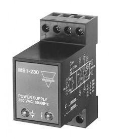 Zasilacz do RSC/RSO i RTC/RTO. Napięcie zasilania Un - 207...253 V AC, zaciski: