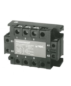 Układ nawrotn SSR, 3-fazow , W jście:25A/480VAC(silnik do 1,5kW), Sterowanie:18