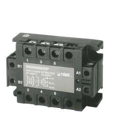 Układ nawrotn SSR, 3-fazow , W jście:25A/480VAC(silnik do 1,5kW), Sterowanie:10