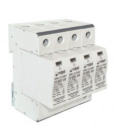 Ogranicznik, klasa I/B+C, 4-polow , Iimp - 3x12,5 kA, w mienna wkładka, bezpoten