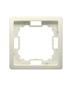 Ramka x1 bmr1/12 beżowa basic kontakt-simon