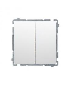 Łącznik x2 p\t podświetlany bmw5l.01/11 biały basic moduł kont