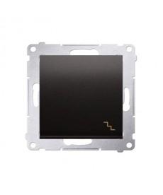 Łącznik schodowy (moduł) 10ax antracyt kontakt-simon dw6.01/48