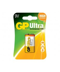 BATERIA 9V BLISTER-1 ULTRA ALKALINE GP BATTERY 1604AU-U1