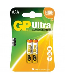 BATERIA LR3 AAA BLISTER-2 ULTRA ALKALINE GP BATTERY 24AU-U2