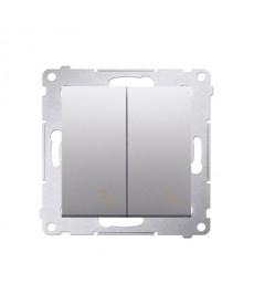 Premium 54 dw6/2.01/43 x2 schodowy podwójny 10a kontakt-simon