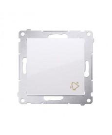 Dzwonek elektroniczny (moduł) 230v biały kontakt.simon54 dd1.01/11