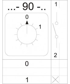 ŁĄCZNIK 4G16-90-PK APATOR 63-840392-021