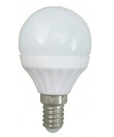 LAMPA LED E14 6W KULKA 3000K