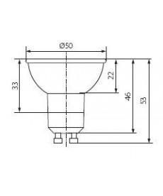 ŻARÓWKA HALOGENOWA JDR+A20W60C/EK BASIC KANLUX 10814