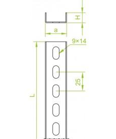 CEOWNIK CP 28H12/3M GR.1,5MM, BAKS 611430