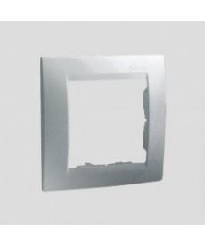Ramka 1-krotna uniwersalna ,alu kontakt-simon 1501610-026