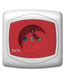 TON Gniazdo pojedyncze z uziemieniem DATA z przesłonami torów prądowych Ref_GP-1CZDP/00