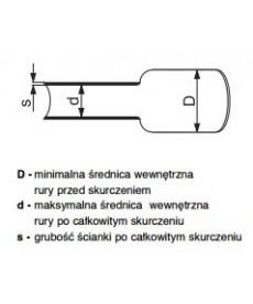 RURA TERMOKURCZ. Z KLEJEM RPK 12/4, RADPOL 5-518-00