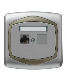 TON Gniazdo komputerowe pojedyncze, kat. 5e FOREX Ref_GPK-1C/F/18/16