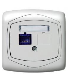 TON Gniazdo komputerowe pojedyncze, kat. 5e MMC Ref_GPK-1C/K/00