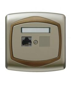 TON Gniazdo komputerowe pojedyncze, kat. 5e MMC Ref_GPK-1C/K/16/20