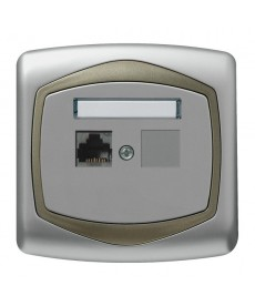 TON Gniazdo komputerowe pojedyncze, kat. 5e MMC Ref_GPK-1C/K/18/16