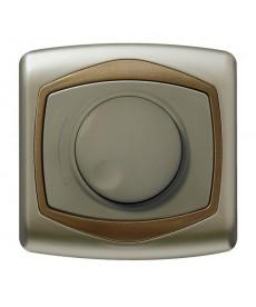 TON Ściemniacz przyciskowo-obrotowy przystosowany do obciążenia żarowego i halogenowego Ref_ŁP-8CB/16/20