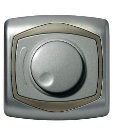 TON Ściemniacz przyciskowo-obrotowy przystosowany do obciążenia żarowego i halogenowego Ref_ŁP-8CB/18/16