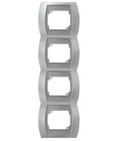 GAZELA Ramka poczwórna pionowa Ref_R-4JV/18