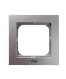AS Ramka pojedyncza do łączników IP-44 Ref_RH-1G/18
