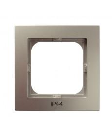 AS Ramka pojedyncza do łączników IP-44 Ref_RH-1G/45