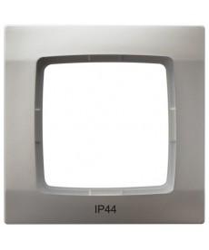 KARO Ramka pojedyncza do łączników IP-44 Ref_RH-1S/43