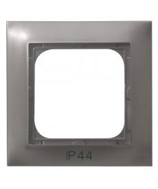 IMPRESJA Ramka pojedyncza do łączników IP-44 Ref_RH-1Y/23