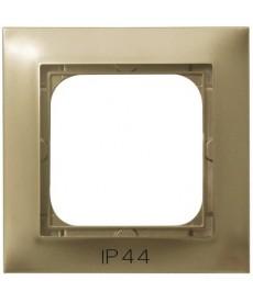 IMPRESJA Ramka pojedyncza do łączników IP-44 Ref_RH-1Y/28