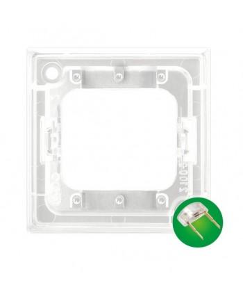 ARIA Zespół podświetlenia led zielony do łączników potrójnych Ref_ZP-4UZ