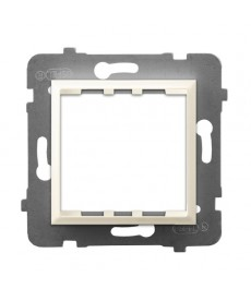 Adapter podtynkowy systemu OSPEL 45 do serii Aria Ref_AP45-1U/m/27