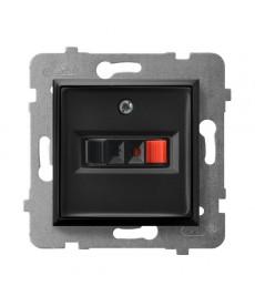 ARIA Gniazdo głośnikowe pojedyncze Ref_GG-1U/m/33