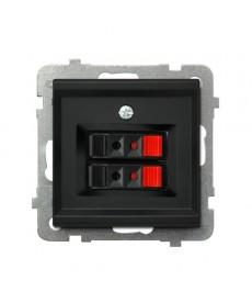 SONATA Gniazdo głośnikowe podwójne Ref_GG-2R/m/33