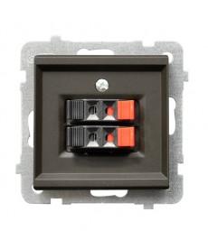 SONATA Gniazdo głośnikowe podwójne Ref_GG-2R/m/40
